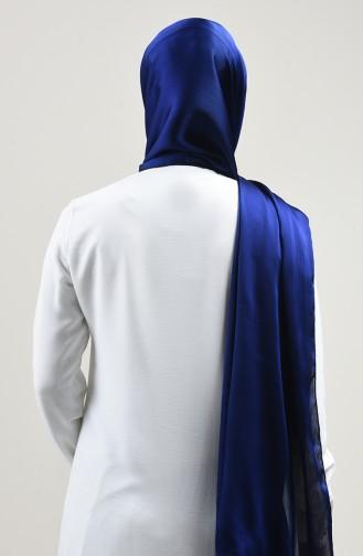 Chiffon Shawl Light Navy Blue 4495-10