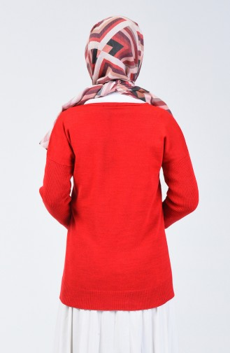 Weinrot Pullover 0510-03