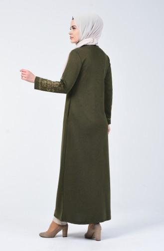 Khaki Abayas 5127-04