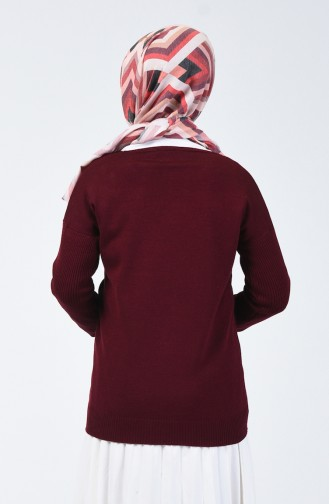 Weinrot Pullover 0510-07