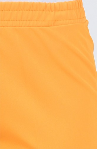 Lastikli Klasik Pantolon 3126PNT-01 Hardal