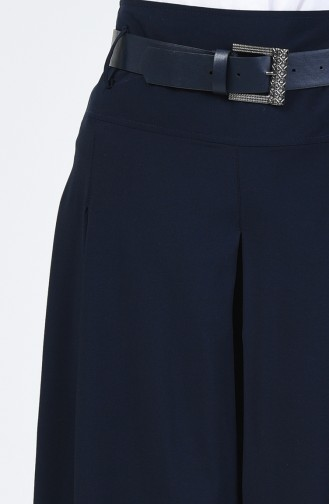 Navy Blue Broekrok 6436-02