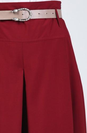 Pantalon Jupe Viscose 6436-03 Bordeaux 6436-03