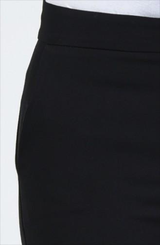 Double Paça Pantolon 3156-03 Siyah 3156-03