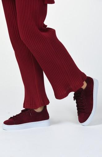 Bayan Spor Ayakkabı MDR06-03 Bordo