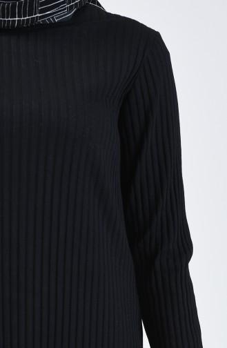 Kaşkorse Tunik Pantolon İkili Takım 3140-01 Siyah