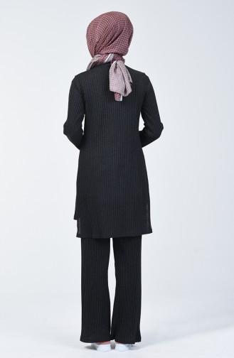 Kaşkorse Tunik Pantolon İkili Takım 3140-03 Antrasit