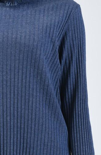 Kaşkorse Tunik Pantolon İkili Takım 3140-06 İndigo
