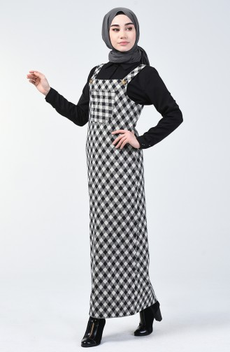 Cepli Kışlık Jile Elbise 1037-03 Siyah 1037-03