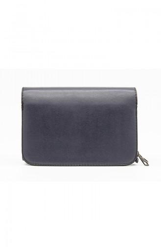 Navy Blue Shoulder Bag 3514-45