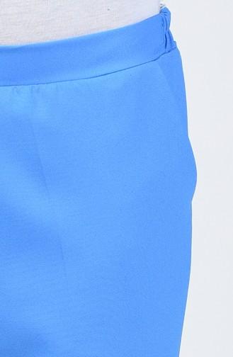 Pantalon Simple 0029-04 Bleu 0029-04
