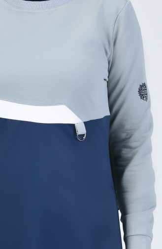 Garnili Spor Elbise 09053-02 Lacivert