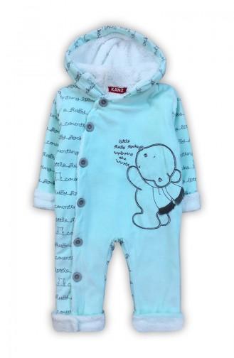 Erkek Bebek Kozmonont Tulum F0683 Su Yeşili