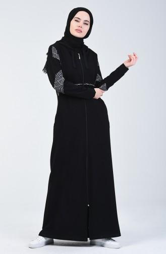 Black Abaya 09051-03