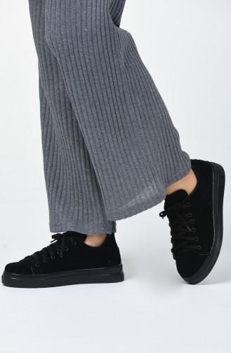 Black Sport Shoes 06-01