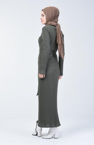 Kaşkorse Elbise 3141-01 Haki