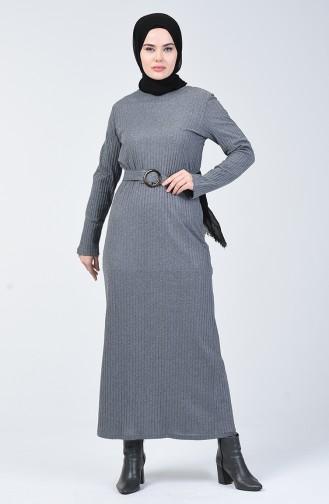 Gray İslamitische Jurk 3141-04