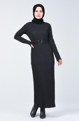 Kaşkorse Elbise 3141-06 Antrasit