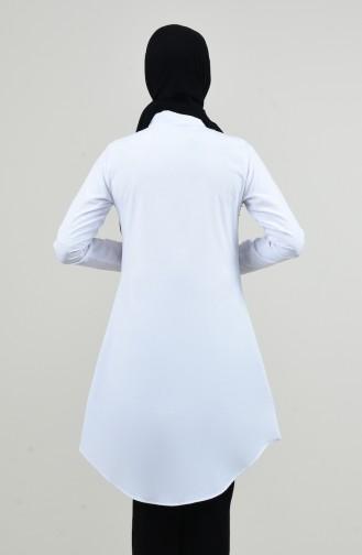 Tunique Garni 6437-04 Blanc 6437-04