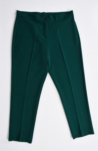 Pantalon Grande Taille 1110-26 Vert émeraude 1110-26