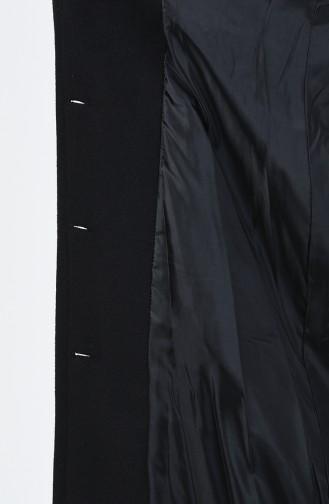 Kuşaklı Kaşe Kaban 2033-01 Siyah 2033-01