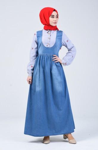 Lila Hijap Kleider 5090-01