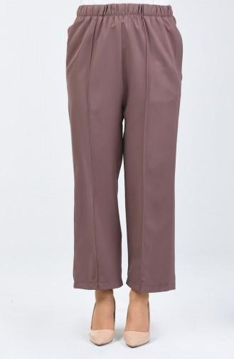 Pantalon Large élastique 5223-04 Vison Foncé 5223-04