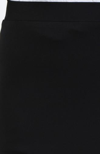 Beli Lastikli Kalem Etek 0522-01 Siyah