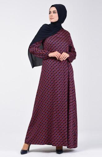 Robe Hijab Bleu Marine 8179-01