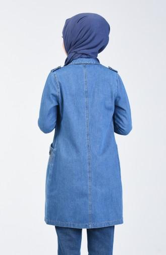 Jeans Blue Jacket 6088-02