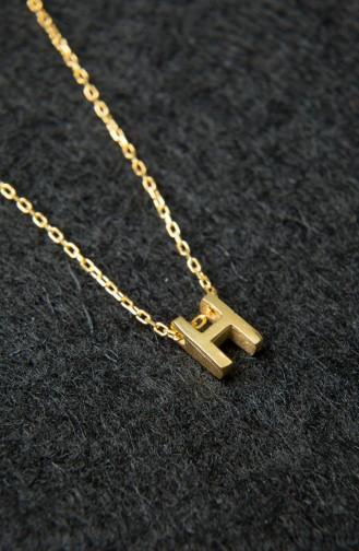 Collier Trois Dimensions Pour Femme en Argent Sterling 925 PP2219 Or 2219