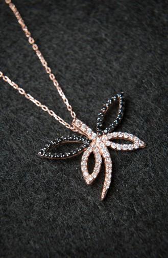 Silver Gray Necklace 2265