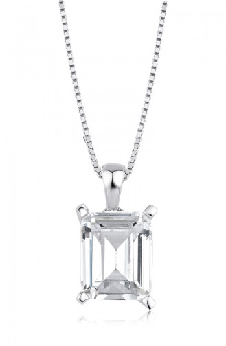 Sky Diamond Baget Kolye sky-2920Beyaz 2920