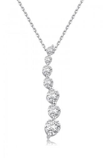 Sky Diamond Suyolu Kolyesky-3057Beyaz 3057
