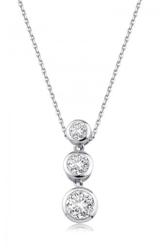 Sky Diamond Tria Kolyesky-3058Beyaz