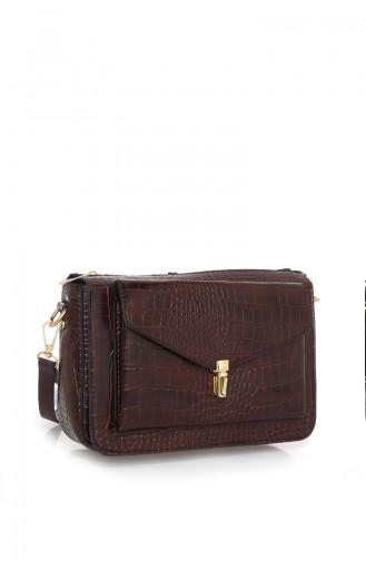 Claret red Shoulder Bag 51Z-02