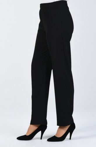 Beli Lastikli Pantolon 3137PNT-01 Siyah