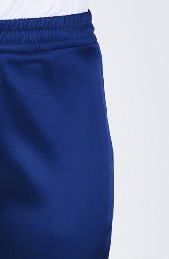 Pantalon Taille Élastique 3155PNT-01 Bleu Roi 3155PNT-01