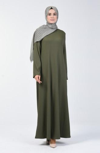 Kaşkorse Elbise 0069-01 Haki 0069-01