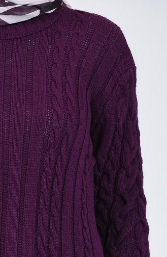 Trikot Lange Pullover 1993-05 Lila 1993-05