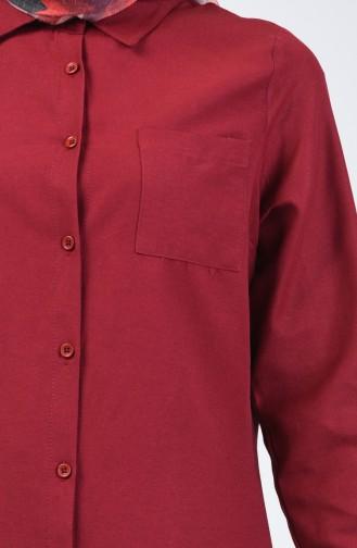 Claret red Tunic 6422-02