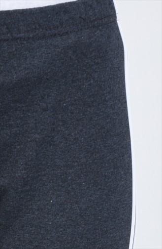 Şeritli Eşofman Altı 9000-05 Füme