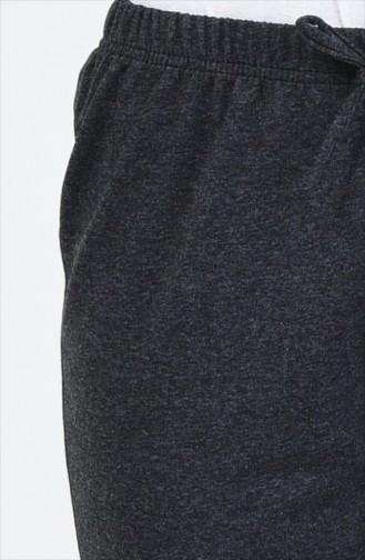 Joggingshose mit elastischer Arm  1558-04 Anthrazit 1558-04