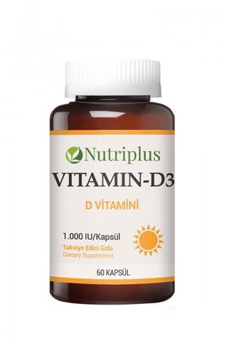Farmasi Nutriplus D Vitamini 60 Kapsül9700547