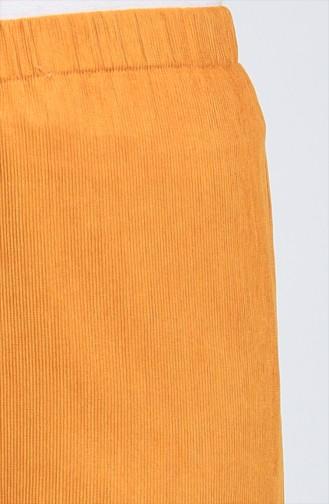بنطال أصفر خردل 0267-09