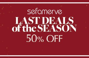 This season's final deal! 50% Off