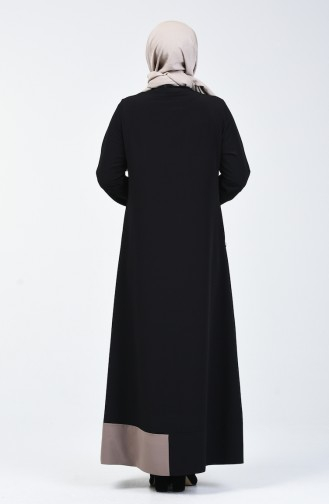 Black Abaya 0129-02