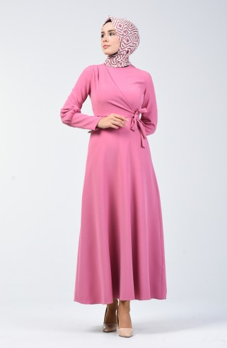 Dusty Rose İslamitische Jurk 2712-01