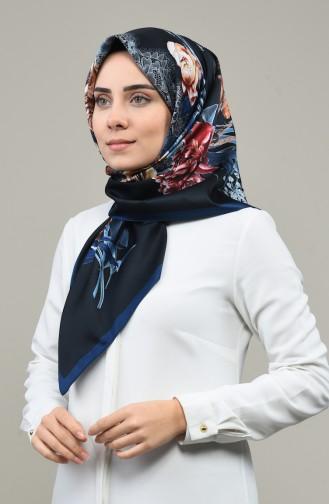 Armine Trend Eşarp 690-03 Siyah Lacivert