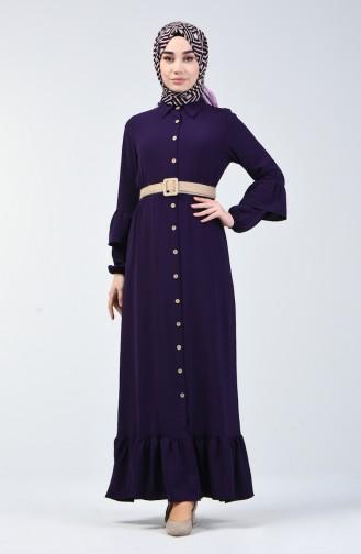 Violet İslamitische Jurk 5667-08